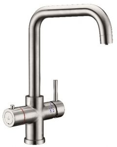 Instant Hot Water 4 in 1 U Spout Mixer Tap with Boiler and Filter