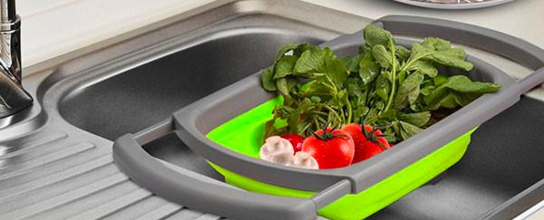 View our kitchen sink and tap accessories